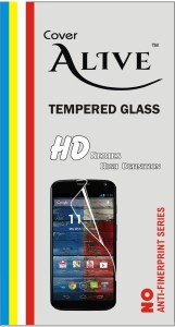 Cover Alive Tempered Glass Guard for Apple iPhone 5S