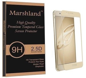 Marshland Tempered Glass Guard for Huawei Honor 8 Golden