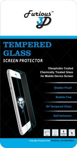 Furious 3D Tempered Glass Guard for Motorola Moto Z Play
