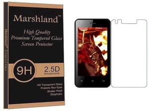 Marshland Tempered Glass Guard for LYF Flame 2