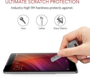 brand new ea27a 2d19f Case U Tempered Glass Guard for Mi Redmi Note 4