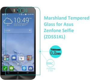 Marshland Tempered Glass Guard for ZenFone Go (ZB450KL)