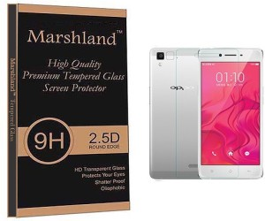 Marshland Tempered Glass Guard for Oppo R7