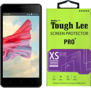 Tough Lee Tempered Glass Guard for Lyf Wind 4s (5 inch)