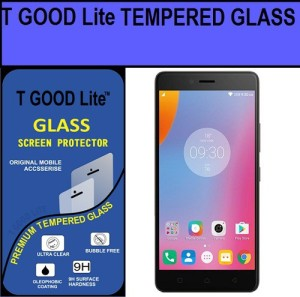 T GOOD Lite Tempered Glass Guard for Lenovo K6 Power Premium with installation Kit