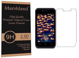 Marshland Tempered Glass Guard for LYF Flame 6