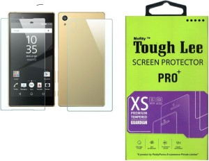 Tough Lee Tempered Glass Guard for Sony Xperia Z1 (5 inch, Transparent) (Front and Back)