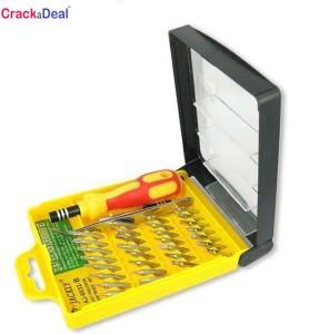 0c9195037 CrackaDeal Jackly 32 IN 1 Magnetic Standard Screwdriver Set Pack of ...