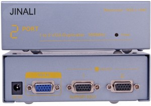 Jinali VGA SPLITTER 1X2 350 MHZ Media Streaming Device