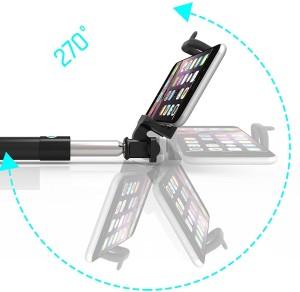 e1b1e6f08c73ac SumacLife Handheld Extendable Bluetooth Monopod Selfie StickBlack, Blue