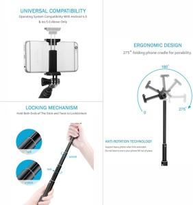 632235fa539594 Zaap Nustar1 Bluetooth Extendable Premium Selfie Stick Black Best Price in  India | Zaap Nustar1 Bluetooth Extendable Premium Selfie Stick Black  Compare ...