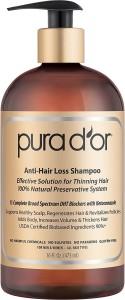 Pura D Or Anti Hair Loss Premium Organic Argan Oil Shampoo 473 Ml