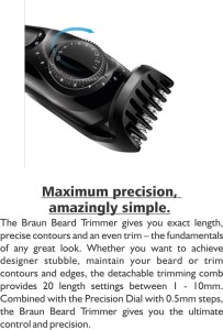 Review And Unboxing Of Braun Bt3040 Trimmer