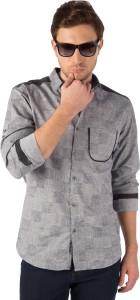 Rodid Men's Woven Casual Black Shirt