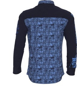 14b233349 Lumber Boy Boys Printed Casual Blue Shirt Best Price in India ...