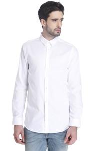 enorme inventario nuovi oggetti trova il prezzo più basso Jack Jones Men s Solid Casual White Shirt Best Price in India ...