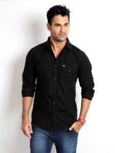 1cf743d9 Rodid Men s Solid Casual Black Shirt Best Price in India | Rodid Men s  Solid Casual Black Shirt Compare Price List From Rodid Casual Party Wear  Shirts ...