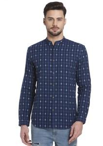 godere del prezzo di sconto sfumature di sulle immagini di piedi di Jack Jones Men s Checkered Casual Blue Shirt Best Price in India ...