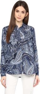 Mayra Women's Printed Casual Multicolor Shirt