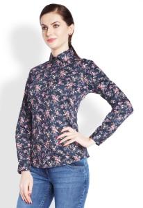 0de33349f30 Park Avenue Women s Printed Formal Purple Shirt Best Price in India ...