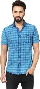 16cbf86bc9d Mufti Men s Checkered Casual Multicolor Shirt Best Price in India ...