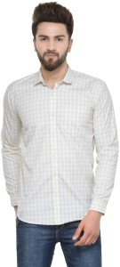 Being Fab Men's Checkered Casual Multicolor Shirt