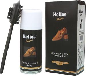 Helios Nubuck & suede shoe care kit Nubuck Shoe Liquid Polish