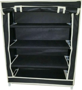 Solace Carbon Steel, Synthetic Fiber Shoe Cabinet
