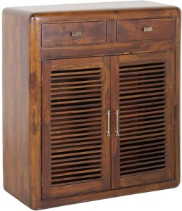 Smart Choice Furniture Rosewood (Sheesham)_JISR01_Matte Finish Solid Wood  Shoe Cabinet