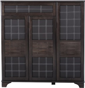 HomeTown Engineered Wood Shoe Cabinet