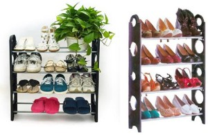Best Way Plastic Standard Shoe Rack