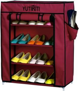 Yutiriti Polyester Shoe Cabinet