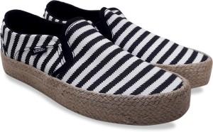 b44dbb311b VANS Asher Loafers ( Black White )