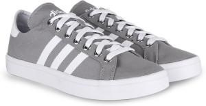 adidas originali courtvantage uomini sneakersgrey, bianco