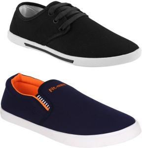 d7e79acb18c Oricum Black 349 486 Sneakers Black Best Price in India