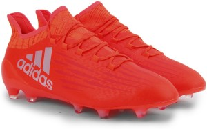 2afb56b79 Adidas X 16 1 FG Football Shoes Red Silver Best Price in India ...