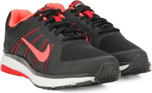 1513108967ba Nike DART 12 MSL Running Shoes Black Pink Best Price in India