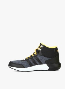 new concept d36dd bcbdf Adidas Neo CLOUDFOAM RACE WTR MID SneakersBlack