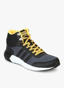 Adidas Neo CLOUDFOAM RACE WTR MID Sneakers Black Best Price in India ... ccc13413b