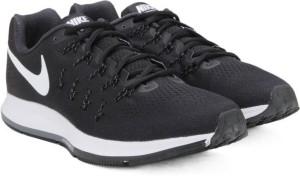b71b499570018 Nike AIR ZOOM PEGASUS Running Shoes Black White Best Price in India ...