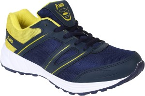 b637087acb48 Aero AMG Performance Running Shoes Blue Yellow Best Price in India ...