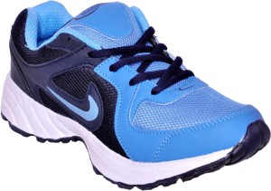 Hitcolus Navy Blue & Sky Blue Running Shoes