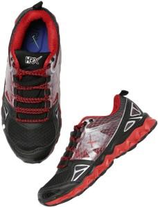 pretty nice ce1b4 56115 HRX by Hrithik Roshan Running Shoes ( Black Red )
