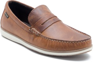 c37099f3ca7 Red Tape RTS10302 Loafers Brown Best Price in India