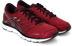 Asics Gel Zaraca 4 Men Running Shoes Maroon Best Price in India