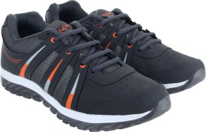 677d7ab8bd0 Lancer Running Shoes Grey Orange Best Price in India