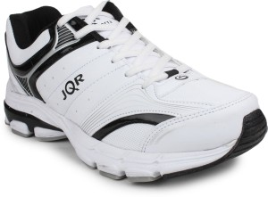Jqr Jqr Sports Shoes Running Shoes White Black Best Price In India