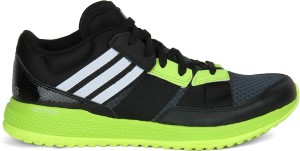 79a1bf387 Adidas ZG BOUNCE TRAINER Men Training Gym Shoes Black Grey White ...