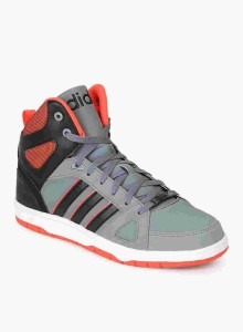 1a6a11ac795 Adidas Neo HOOPS TEAM MID Sneakers Grey Best Price in India