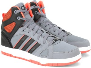 073b3b7e5d9 Adidas Neo HOOPS TEAM MID Mid Ankle Sneakers Grey Best Price in India